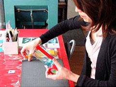 ガラス彫刻制作体験:北一硝子花園店